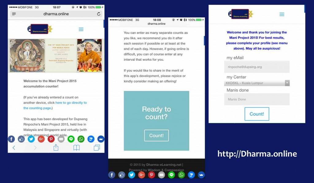 Magic Mani Machine - Mani Counting app on Dharma.online