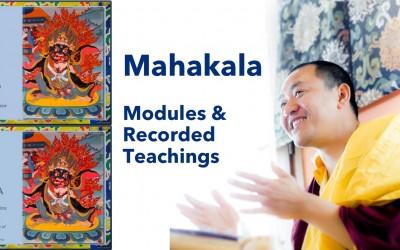 Mahakala Modules & Recorded Teachings with Dupseng Rinpoche