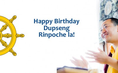 Rinpoche's birthday is coming…and you can be there!