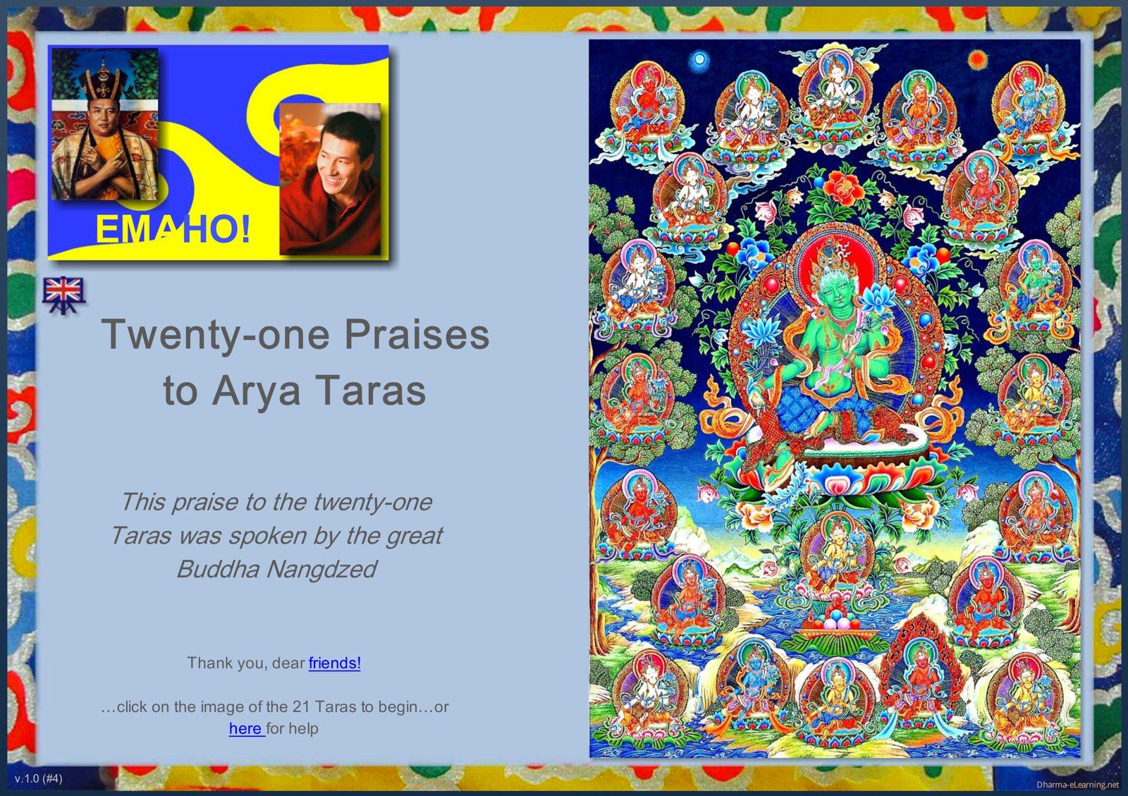 21 Praises to Tara Dharma-eLearning module