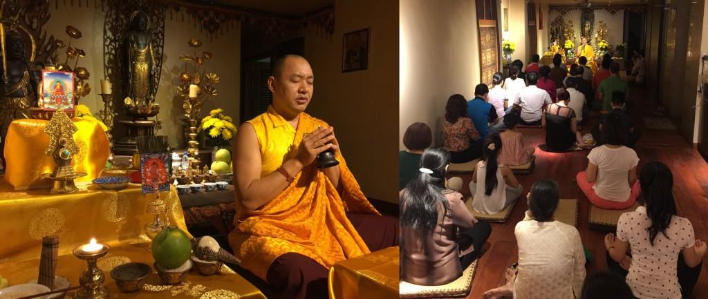 Dupseng Rinpoche Hanoi 2016